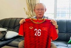 Thầy Park tiếp thêm nghị lực cho chàng trai khuyết tật mê bóng đá