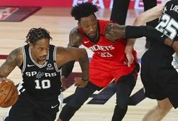 Thắng đậm Rockets vắng James Harden, San Antonio Spurs giữ hy vọng Playoffs