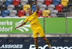 Haaland sắm vai thần tài của Dortmund theo cách kinh ngạc