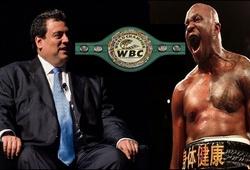 Chủ tịch WBC lắc đầu với màn 'chơi lớn' của Dillian Whyte