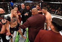 Conor McGregor đấu khẩu Nate Diaz vì tuyên bố Max Holloway bị cướp chiến thắng