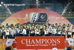 Nguyễn Tuấn Anh: Vô địch V.League 2019 với chỉ 2 phút