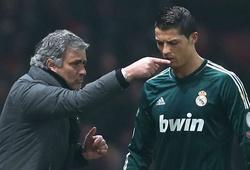 Ronaldo từng suýt khóc vì HLV Mourinho khi ở Real Madrid