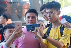 """NHM vây Quang Hải, Hà Nội FC tập kín đấu """"người anh em"""" SHB Đà Nẵng"""