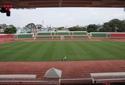 Vì sao Nam Định FC không được tập làm quen sân Thống Nhất?