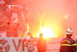 Hà Nội FC và Hải Phòng cùng bị phạt vì pháo sáng