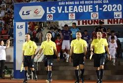 Tổ trọng tài trận TP. HCM vs Hà Nội bị kỷ luật