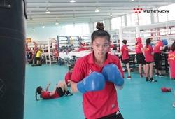 Chuyện đấu bạn tập nam vì thiếu đối thủ của NVĐ Boxing Nguyễn Thị Tâm