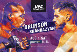 Kết quả UFC Fight Night: Derek Brunson vs Edmen Shahbazyan