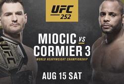 KẾT QUẢ UFC 252: Daniel Cormier vs. Stipe Miocic 3: Stipe Miocic giành chiến thắng bằng tính điểm đồng thuận