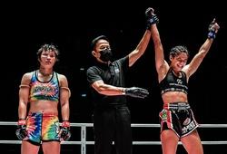Nữ vương Stamp Fairtex thua bất ngờ, mất đai cuối cùng vào tay võ sĩ Brazil