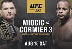 Lịch thi đấu UFC 252 mới nhất