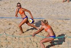 Bóng chuyền bãi biển U20 Euro Beach Volley trở lại sau đại dịch