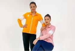 Hot girl bóng chuyền Thu Hoài - Kim Thanh: Hai nàng Kiều của bóng chuyền VN