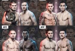 UFC 254 gây sốt với dàn võ sĩ cực khủng