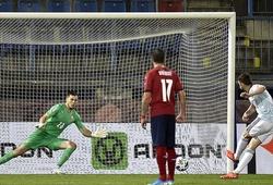 Filip Nguyễn dự bị trong trận thua của tuyển CH Czech