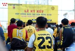 Học viện bóng rổ Yourlife ký hợp đồng đào tạo với 57 tài năng trẻ: Chắp cánh đam mê