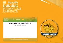 Chạy ảo cùng Manulife Danang International Marathon 2020 giá 0 đồng