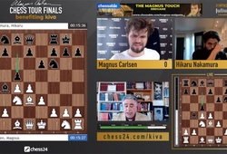 Kết quả chung kết giải cờ vua Magnus Carlsen Tour Finals ngày 19/8: Vua cờ chưa hàng!