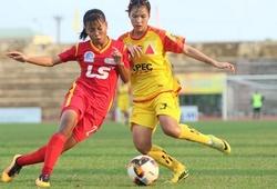 Kết quả bóng đá nữ VĐQG Việt Nam hôm nay mới nhất