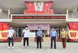 Đức Chinh, Quang Hải chung tay chống dịch COVID-19