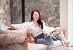 Bạn gái cũ Tiến Linh, Huỳnh Hồng Loan đầy gợi cảm sau chia tay