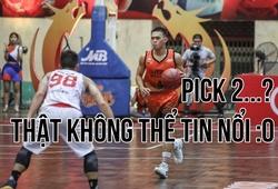 Huỳnh Thanh Tâm không tin nổi vào vị trí Pick 2 tại VBA Draft 2020