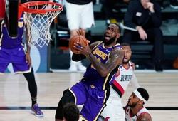 Lakers lên đồ tưởng nhớ Kobe trong ngày đối đầu với Blazers
