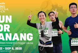"""""""Chạy ảo"""" cùng Manulife Danang International Marathon, quyên tiền chống COVID-19"""