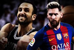 Thần tượng bóng rổ của Messi và 16 năm sự tương đồng kỳ lạ