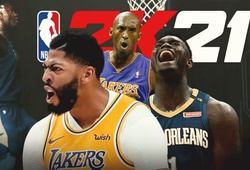 NBA 2K21 úp mở trên TikTok với 3 ngôi sao bìa đĩa