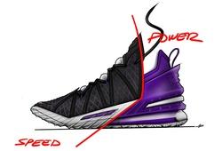 Nike LeBron 18 được hé lộ: Một đôi giày cho tất cả vị trí?