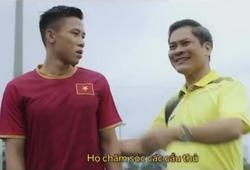 Clip quảng cáo của Quế Ngọc Hải vi phạm bản quyền hình ảnh ĐT Việt Nam