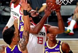 LeBron không ghi nổi 1 điểm ở hiệp cuối, Lakers gục ngã trước Rockets