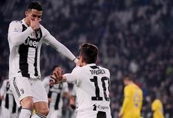 Paulo Dybala kiến tạo cho Ronaldo ghi bao nhiêu bàn mùa này?