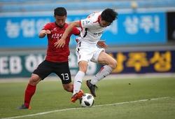Trực tiếp Sangju Sangmu vs Gangwon: Tiếp tục trắng tay
