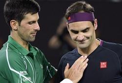 Bất ngờ khi fans tennis bầu chọn Djokovic là Tay vợt nam vĩ đại nhất kỷ nguyên Mở