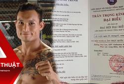 """Trần Quang Lộc """"được sinh ra lần nữa"""" với mốc lịch sử của MMA Việt"""
