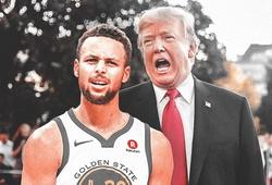 Xuống đường biểu tình, S.Curry bật tổng thống Donald Trump cực gắt