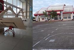 Trung tâm TDTT Quảng Trị phản hồi lý do đóng cửa sân bóng rổ duy nhất