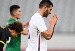 Tiền đạo 35 tuổi của Pháp ghi bàn ở Olympic dành cho... U23
