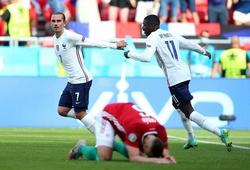 Griezmann theo sát Ronaldo và Platini về ghi bàn tại EURO