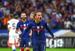 Griezmann sánh ngang Platini sau cú đúp cho tuyển Pháp