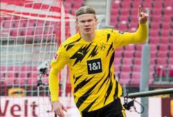 Haaland lập cú đúp vẫn nổi trận lôi đình với Dortmund