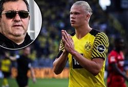 """Tiết lộ về đòi hỏi gây sốc của """"siêu cò"""" cho Haaland đến Chelsea"""