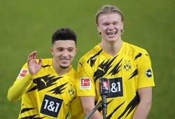 Sancho và Haaland đứng đầu trong top cầu thủ trẻ hứa hẹn nhất