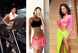 Hoa hậu Hoàn vũ Việt Nam H'Hen Niê khoe vòng eo siêu thon nhờ chạy bộ