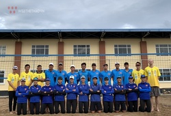 Bóng chuyền bãi biển Việt Nam đón chuyên gia chuẩn bị cho SEA Games 31