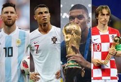 Ronaldo, Messi và những con số ấn tượng nhất làng túc cầu trong năm 2018