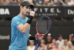 Andy Murray bật khóc sau khởi đầu ấn tượng ở Brisbane International